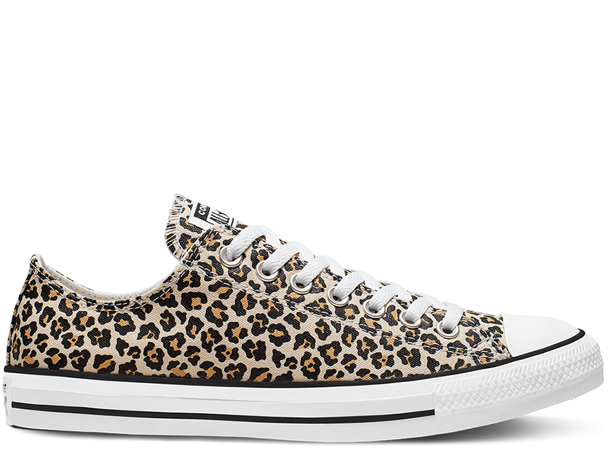 All Star Leopard Low Top