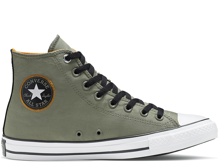 All Star Space Explorer Olive High Top