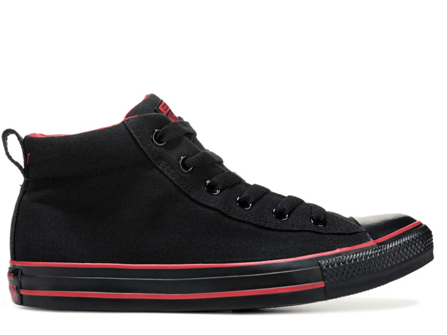 All Star Street Black/Red Mid