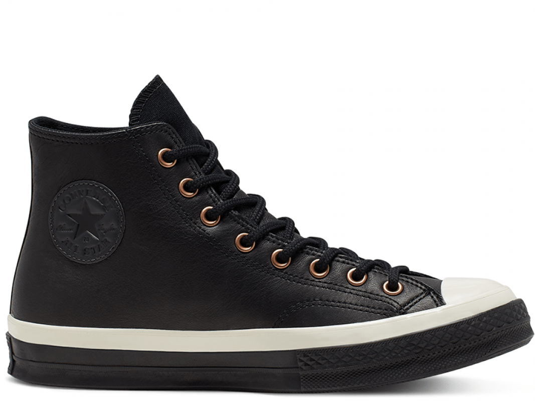 Chuck 70 Waterproof GORE-TEX Leather Black High Top