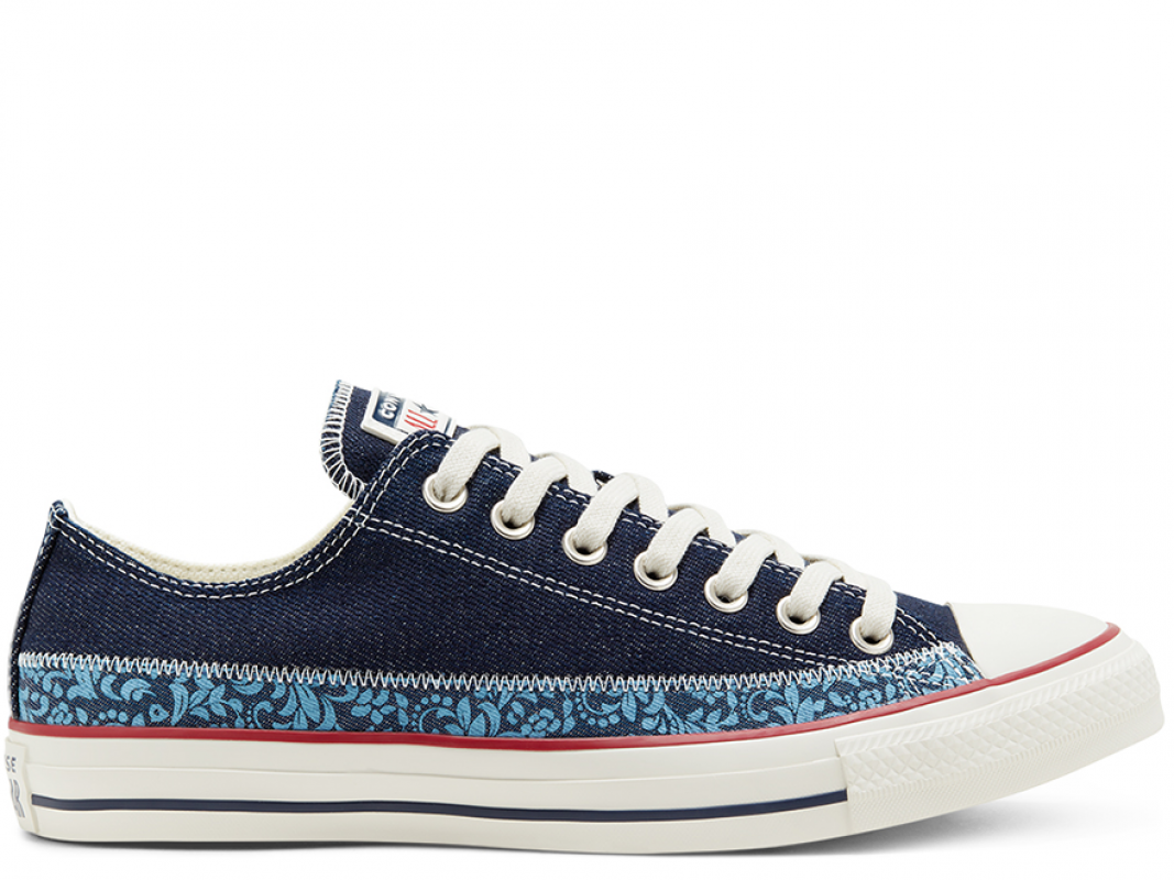 All Star Ctas OX Navy/Egret/Blue Coast