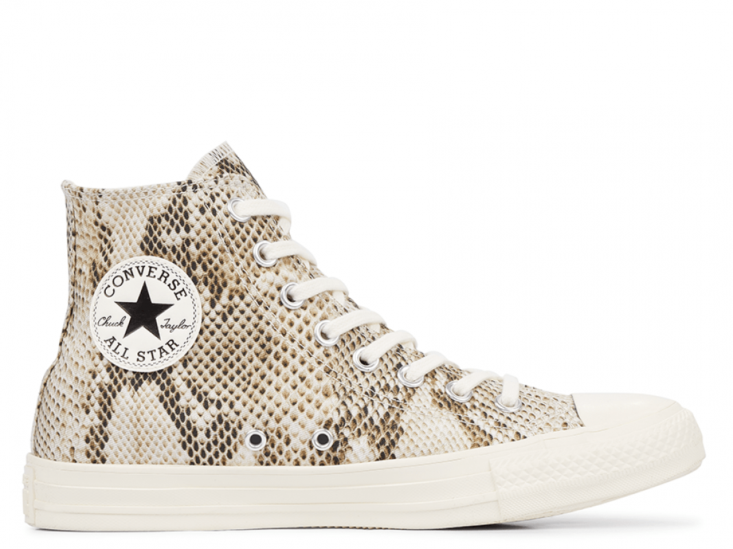 All Star Wild Print Snake High-Top