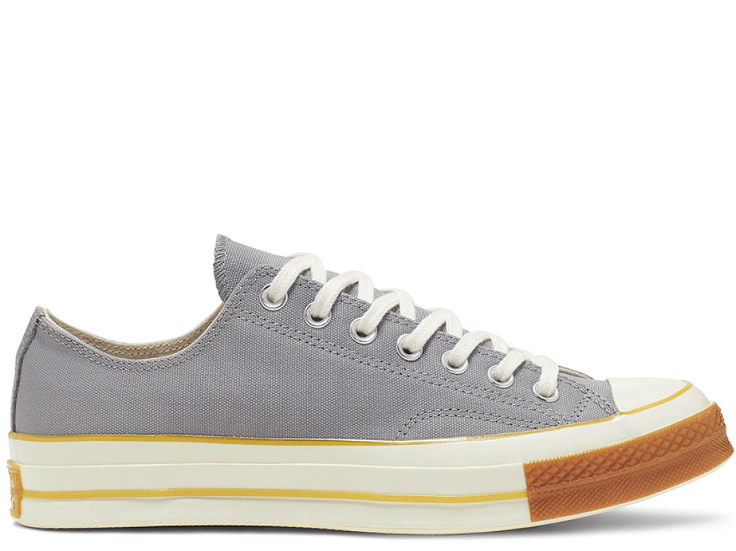 Chuck 70 Pop Toe Gray Low Top