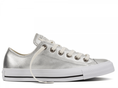 All Star Leather Pure Silver