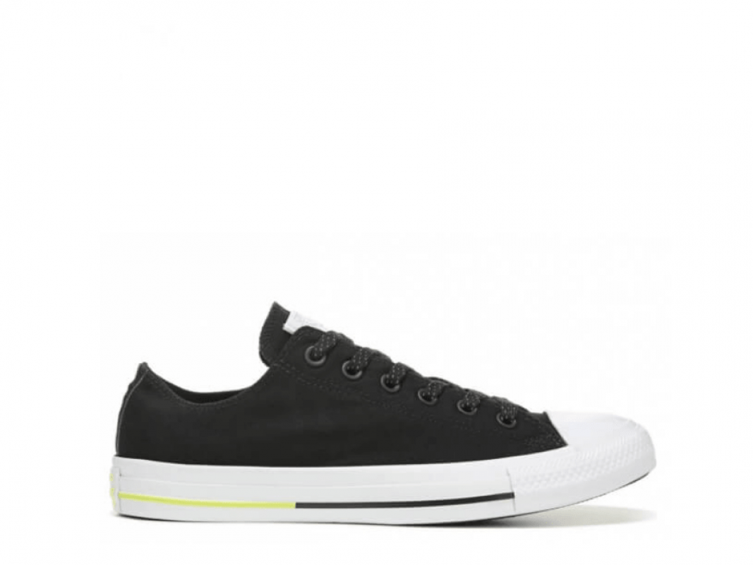 All Star Shield Canvas Black Low