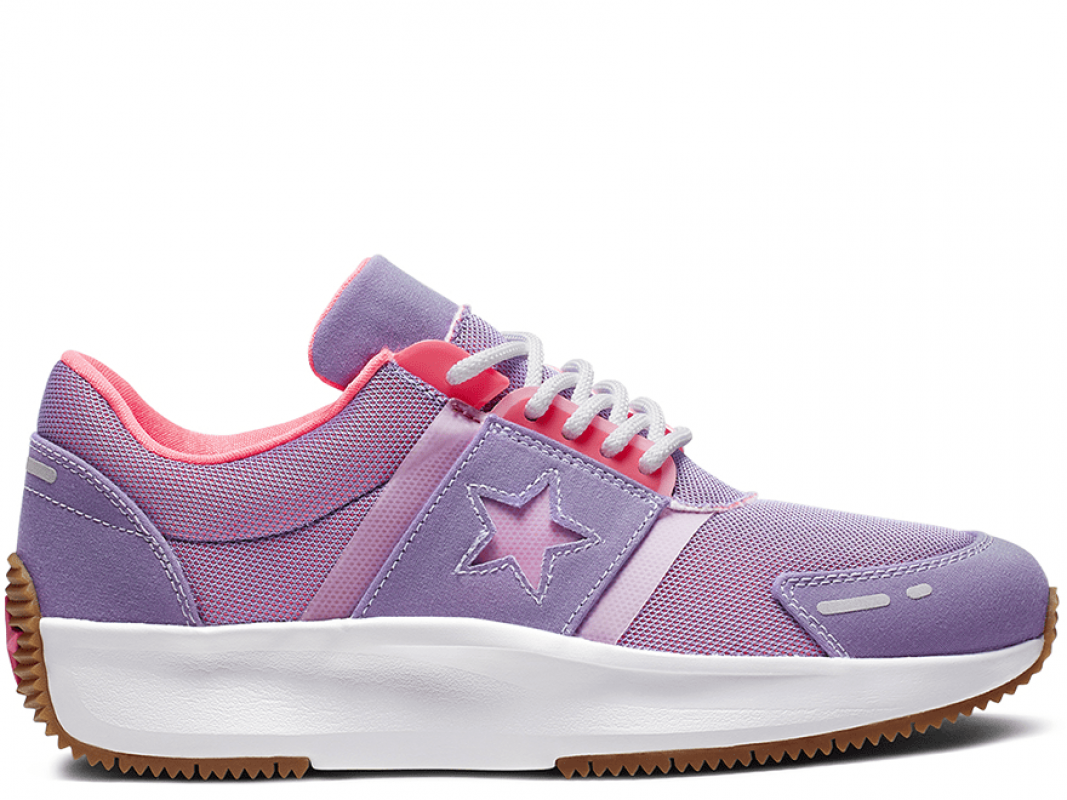 Run Star Retro Glow Violet Low Top