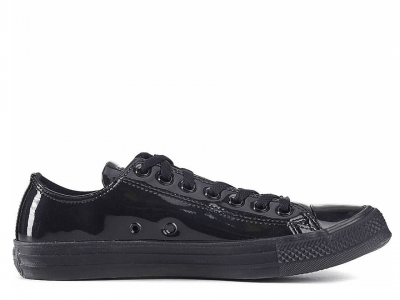 All Star Patent Ice Black Low