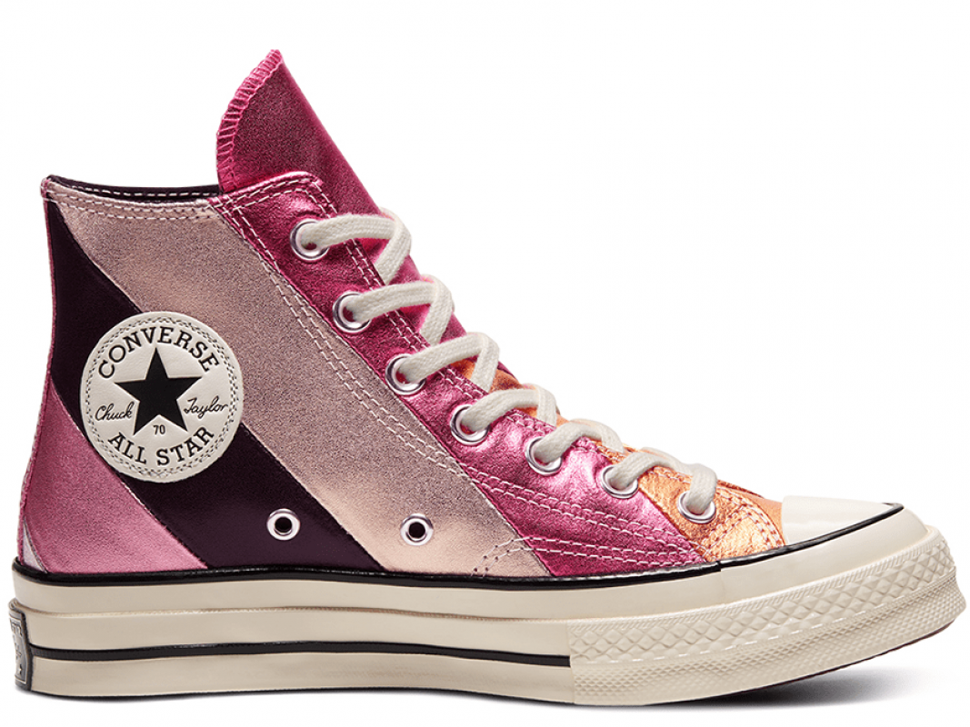 Chuck 70 Metallic Rainbow High Top