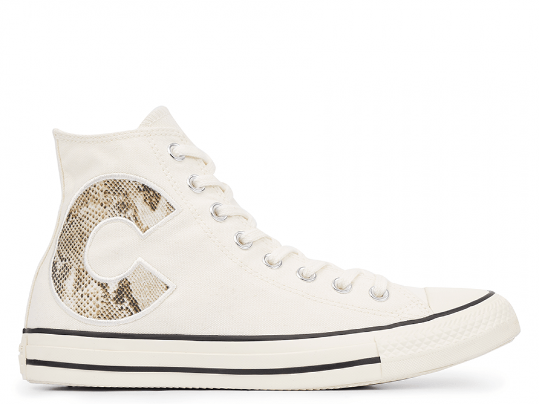 All Star Wild Logo Biege High Top