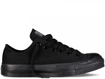 All Star Black Monochrome Low