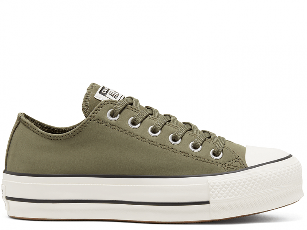 All Star Platform Nubuck Low Top