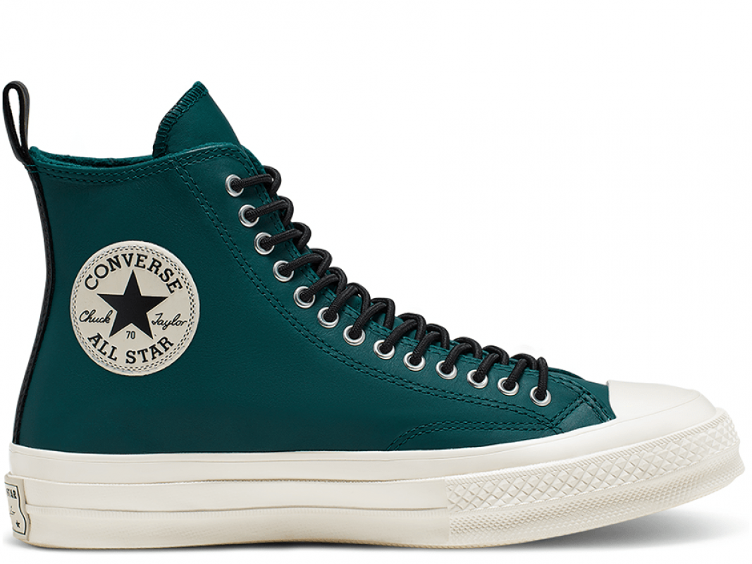 Chuck 70 Fleece-Lined Leather High Top