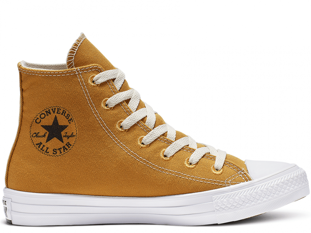 All Star Renew Orange High Top