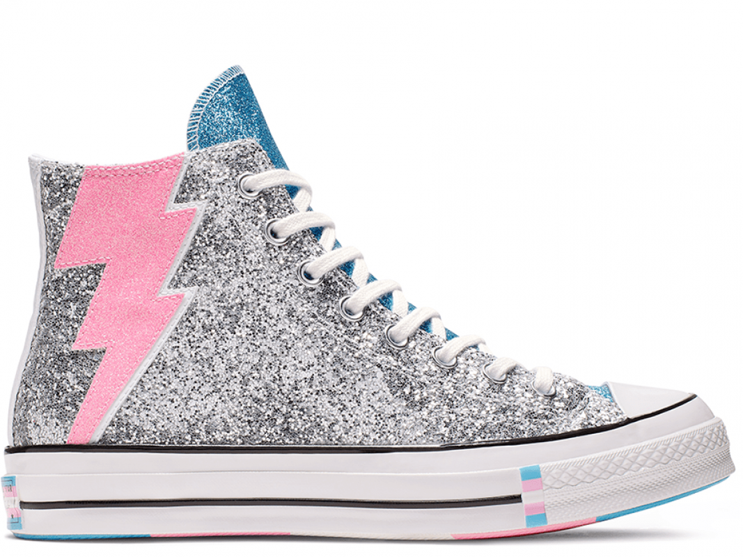 Chuck 70 Pride Silver High Top