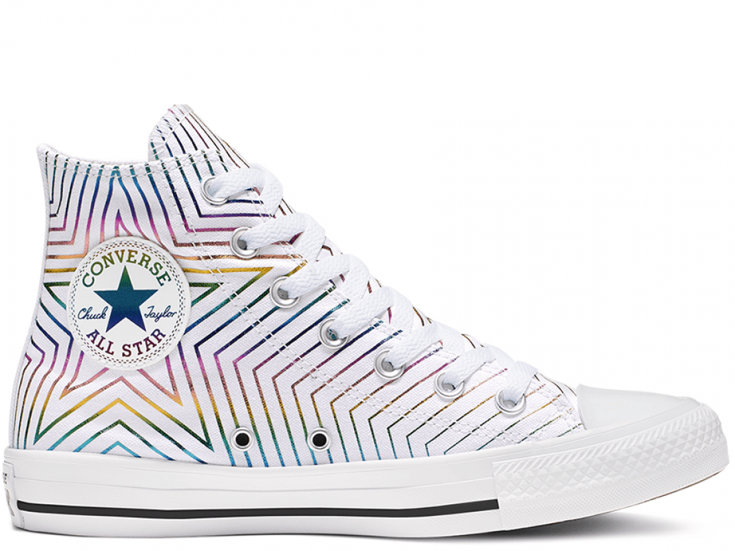 All Star Exploding Star High Top