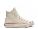 Chuck 70 Warmer High Leather White