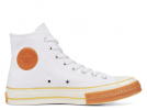 Chuck 70 Pop Toe White High Top