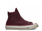 Chuck 70 Warmer High Leather Bordo