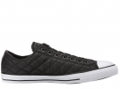 All Star Quilted Black Low