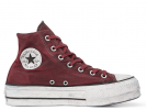 All Star Canvas Rust Platform High Top