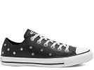 All Star Studs Black Low Top