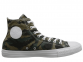 All Star Tri-Panel Camo Khaki High