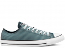All Star Unisex Nautical Prep Aquamarine Low Top