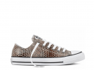 All Star Fashion Snake Low Brown