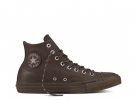 All Star Brown Leather High